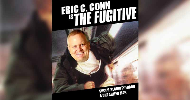 ericconn eric c conn can run, but he can also hide because no one knows