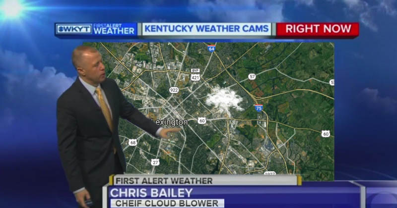 Wkyt Weather Map.Wkyt Doppler Radar Shows Heavy Clouds Over Magic Vapor Shop The